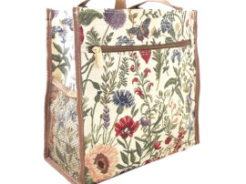 Tapestry Shopper Bag Summer Garden