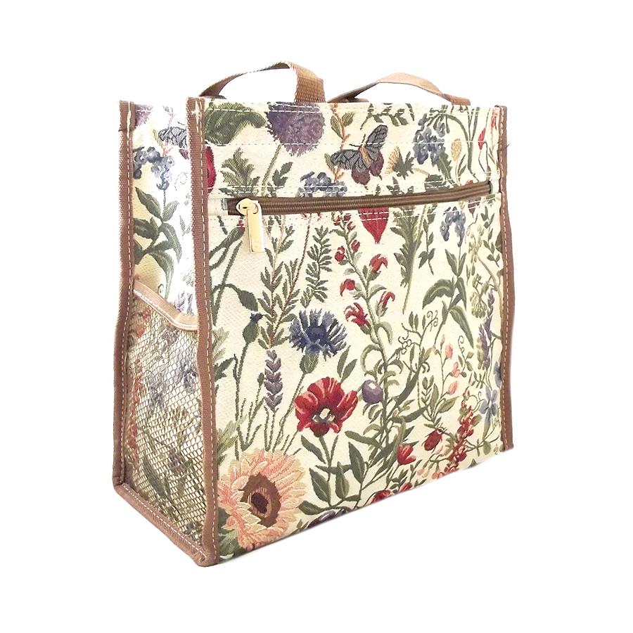 Tapestry Shopper Bag Summer Garden