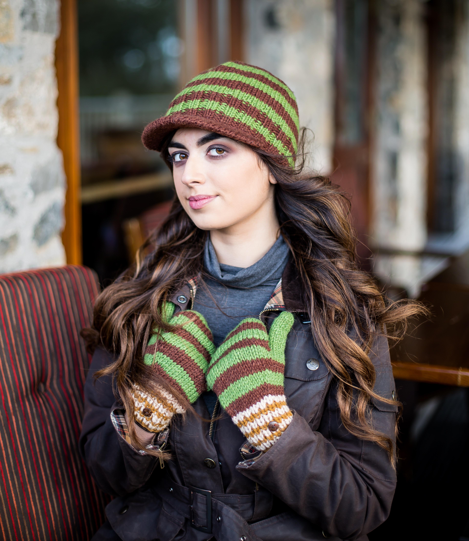 Erin Peak Cap 100% Wool